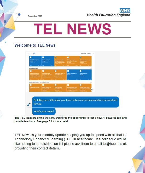 TEL News December 2018